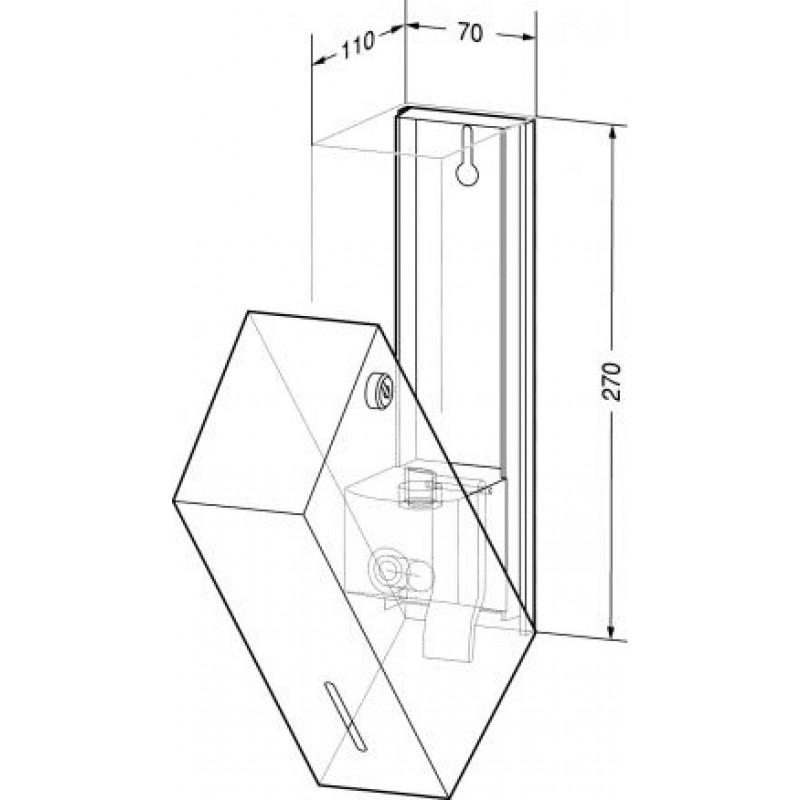 Flüssigseifenspender WP101